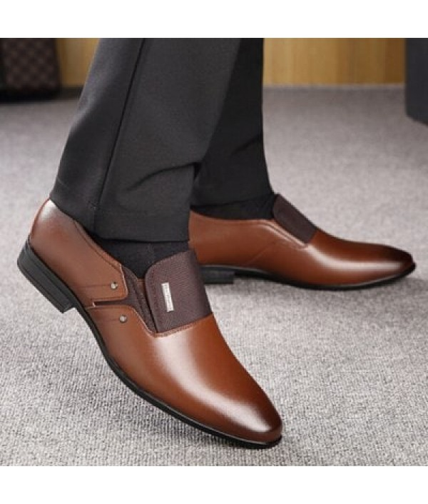 Low Heel Male Business Casual Shoes