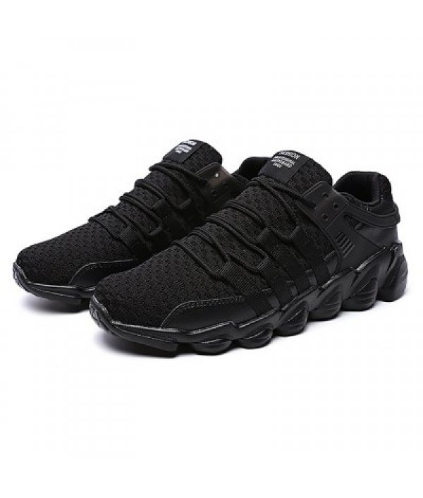 Male Casual Breathable Knitted Running A...