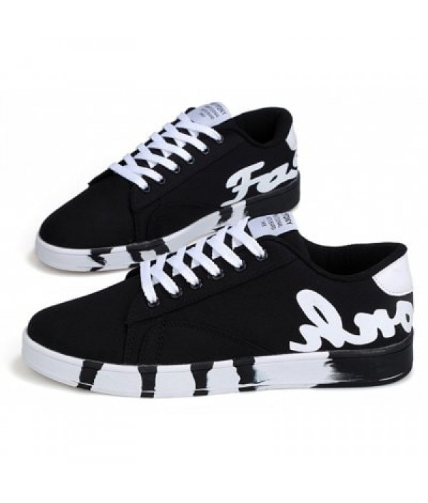 Fashion Lace Up Street Dance Men Casual ...