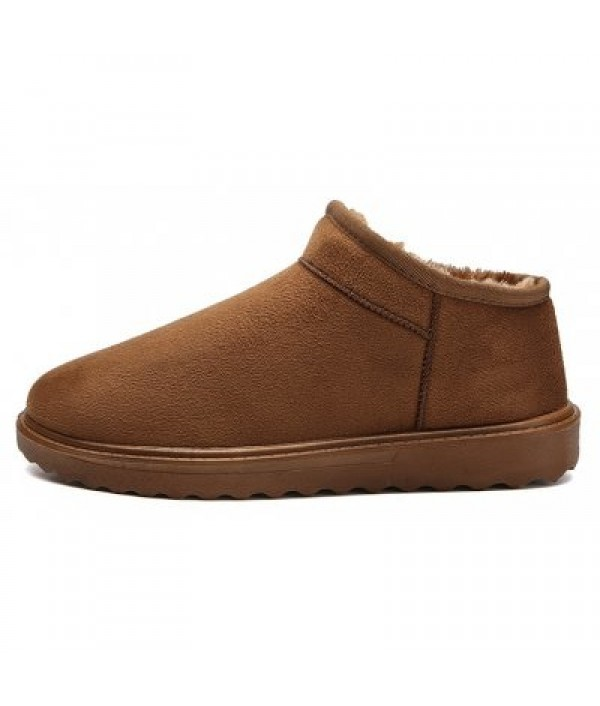 Classic Soft Warm Snow Boots for Male