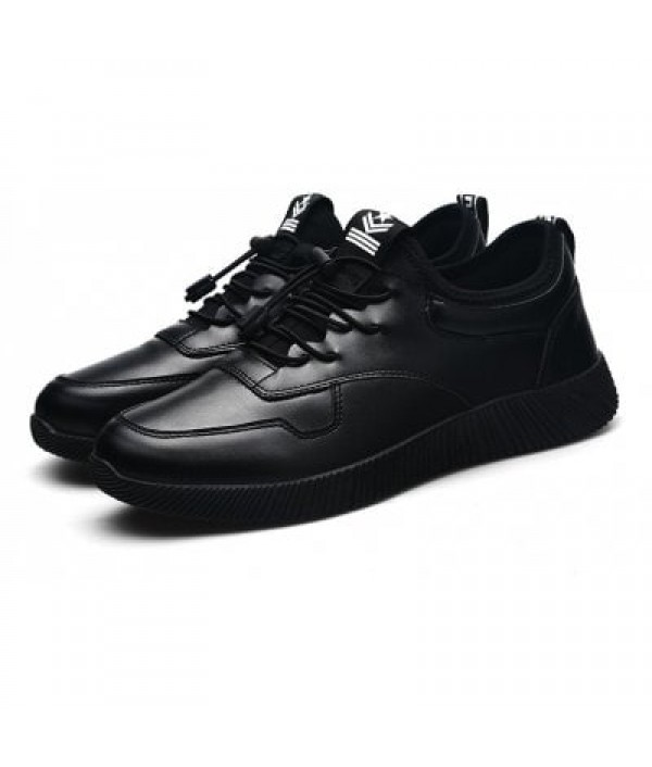 Male Chic Glossy All-dressed Casual Snea...