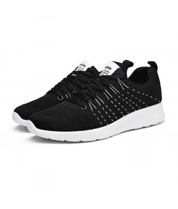 Male Athletic Weave Breathable Lace Up S...