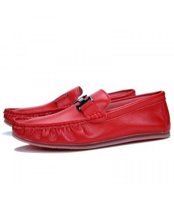 Male Soft Casual Flat Loafers